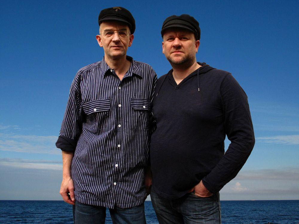 Porträt Volker Weinhold (links), Sebastian Köpcke (rechts)